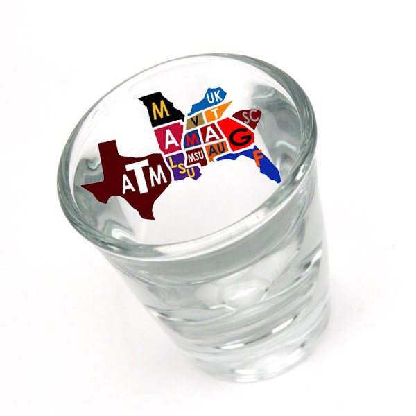 Picture Of SEC Shot Glass