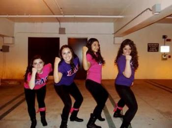 Photo Of Sorority Girls Sigma Lambda Gamma At UCLA