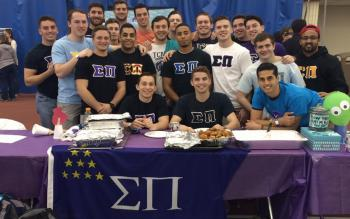 Photo Of Sigma Pi Fraternity at The College of New Jersey