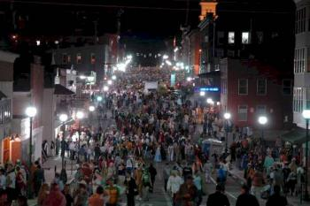 Athens Ohio Block Party