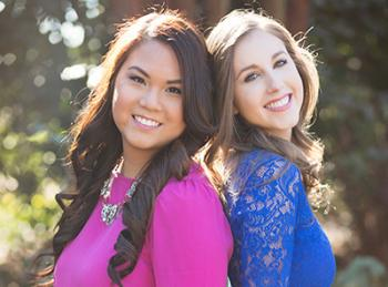 Sharon Bui And Kate Steadman Of Frill Clothing