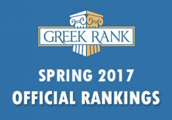 Official Rankings Spring 2017