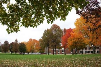 Photo Of Ohio University In The Fall