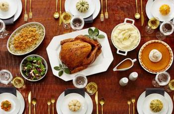 Photo OF Thanksgiving Table