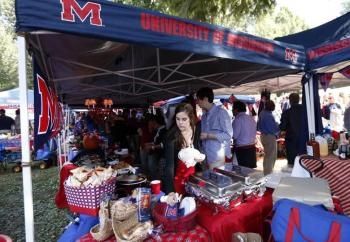 Photo Of Tailgate At University Of Mississippi