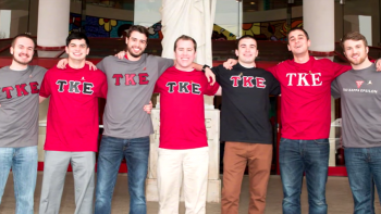 This Month We Spotlight The Teke's Alpha Chapter At Illinois Wesleyan